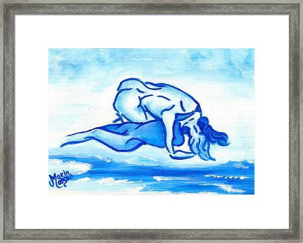 Ocean Of Desire Framed Print