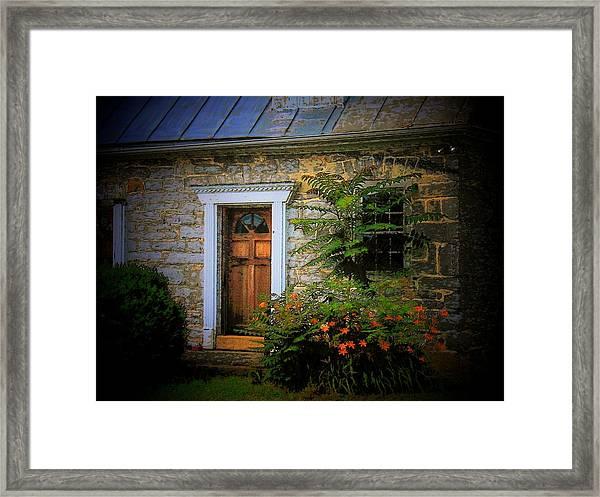 Old Stone House Framed Print