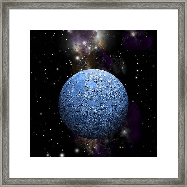 Once In A Blue Moon No.2 Framed Print
