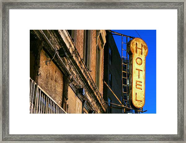 Only The Best Framed Print by JC Findley