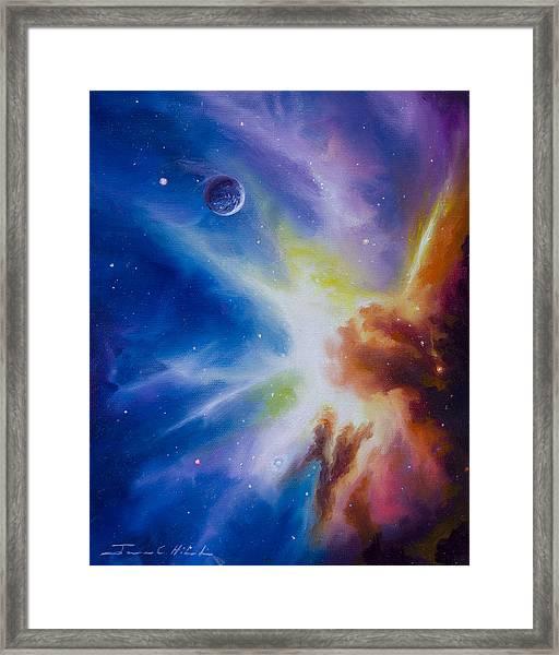 Origin Nebula Framed Print