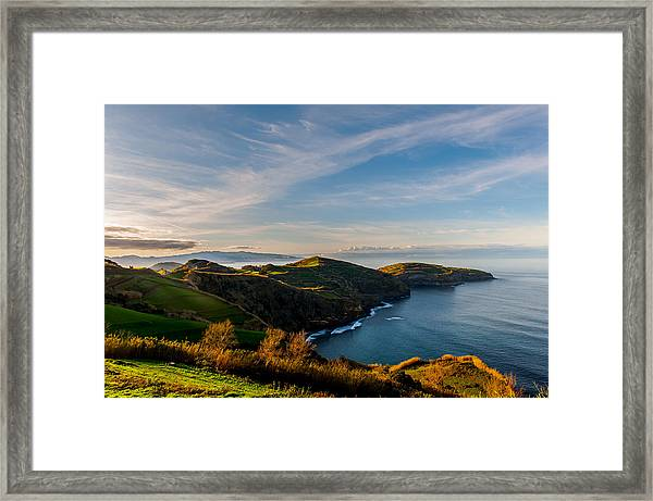Out Bond To The Sea Framed Print