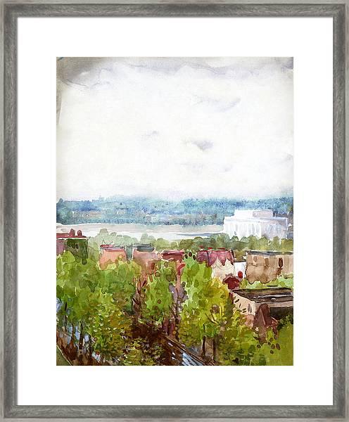 Pennell Lincoln Memorial, C1922 Framed Print