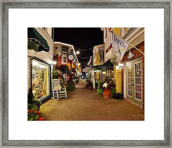 Penny Lane - Rehoboth Beach Delaware Framed Print
