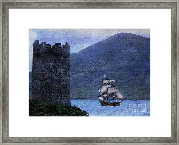 Petitioning The Queen Framed Print