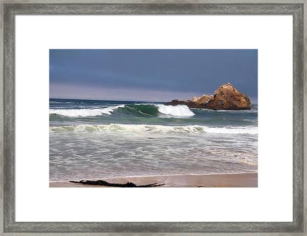 Pfeiffer Beach Big Sur Framed Print