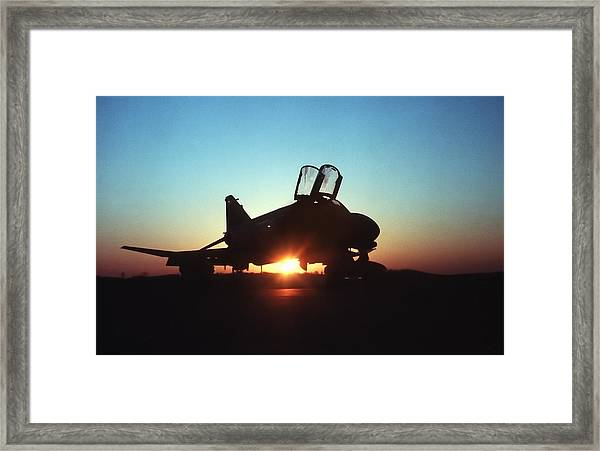 Phantom Sunrise Framed Print