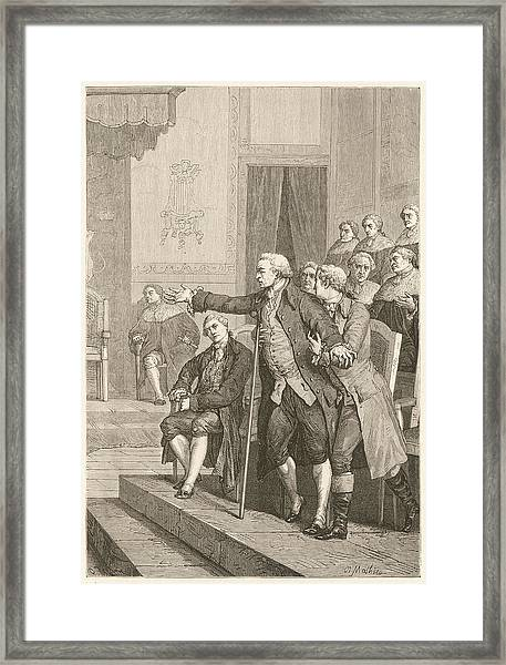 Pitt The Elder  1st Earl Of Chatham Framed Print by Mary Evans Picture Library