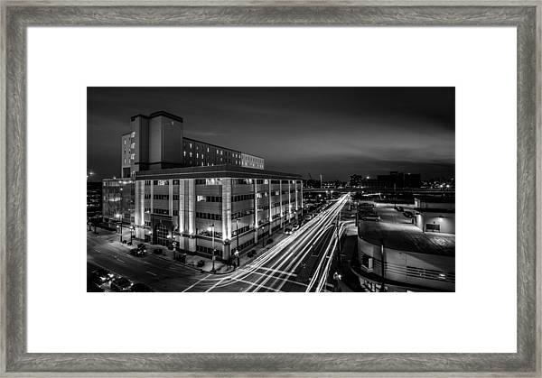 Plankington Streaks Framed Print