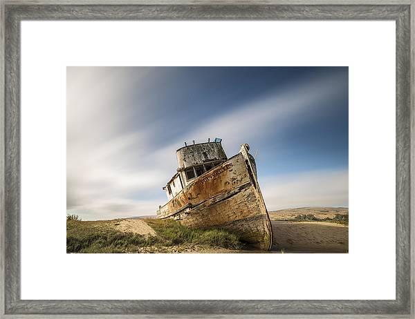 Point Reyes Shipwreck Framed Print