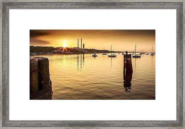 Port Jefferson Framed Print