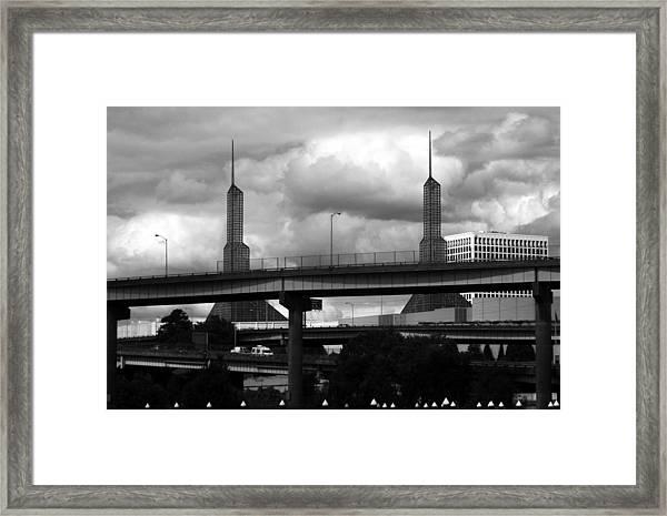 Portland Bridge Framed Print