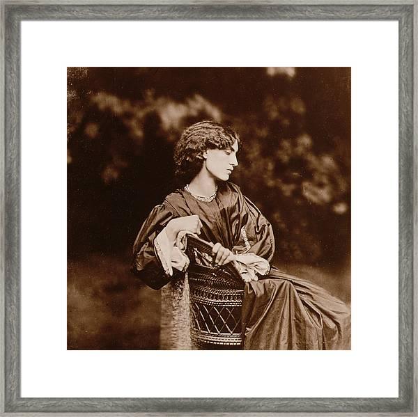 Portrait Of Jane Morris Framed Print