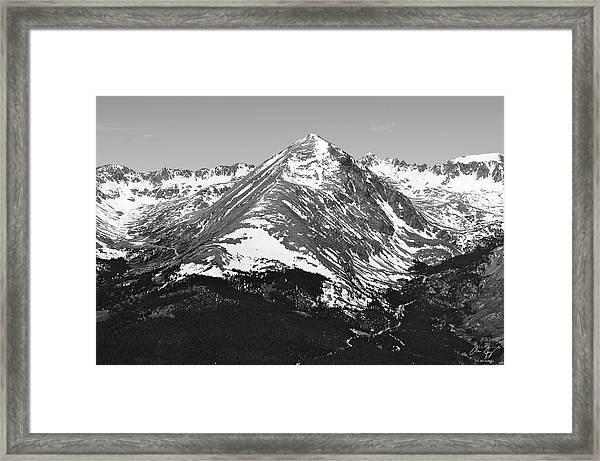Quandary Peak Framed Print
