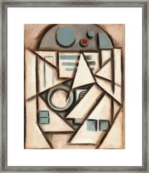 R2 Deco Art Print Framed Print