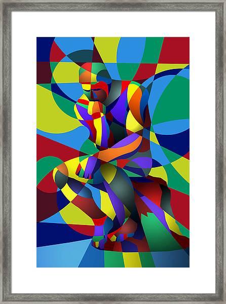 Randy's Rodin Framed Print