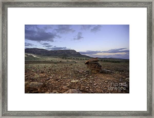 Rawnsley Bluff Framed Print