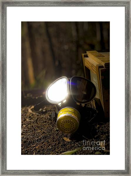 Reflection Of War Framed Print