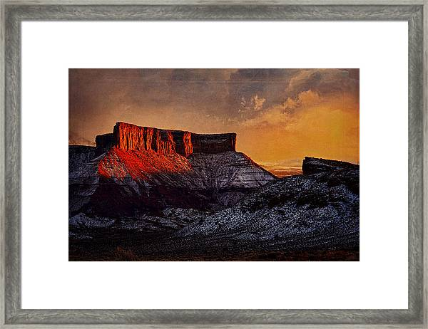 Reflective Intensity Framed Print