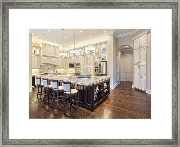 Regional Luxury Houses Framed Print by TerryJ