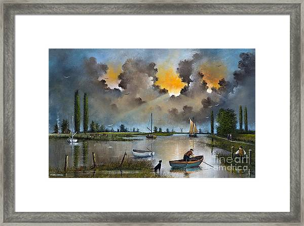 River Yare On The Broads Framed Print