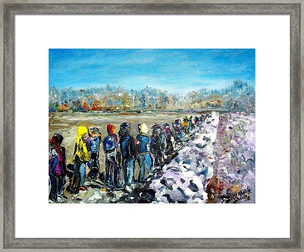 River's Walk Framed Print