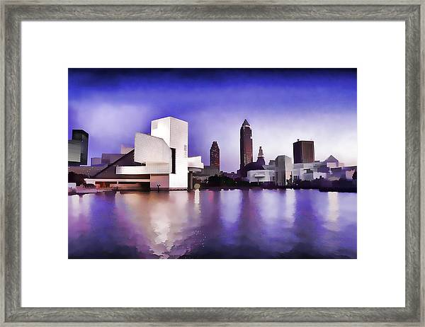 Rock And Roll Hall Of Fame - Cleveland Ohio - 3 Framed Print