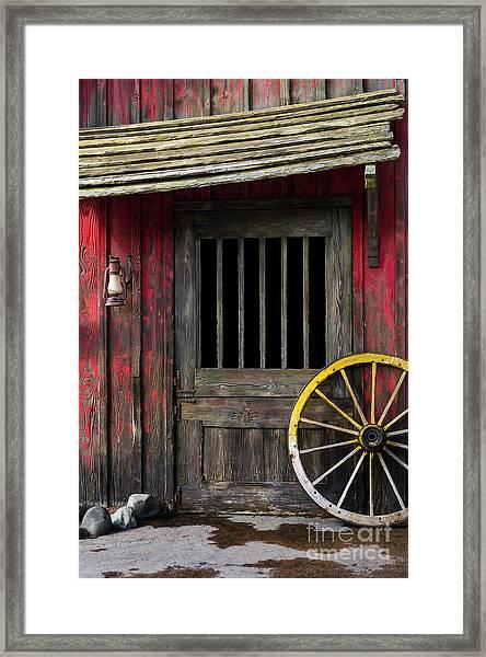 Rural Western Framed Print