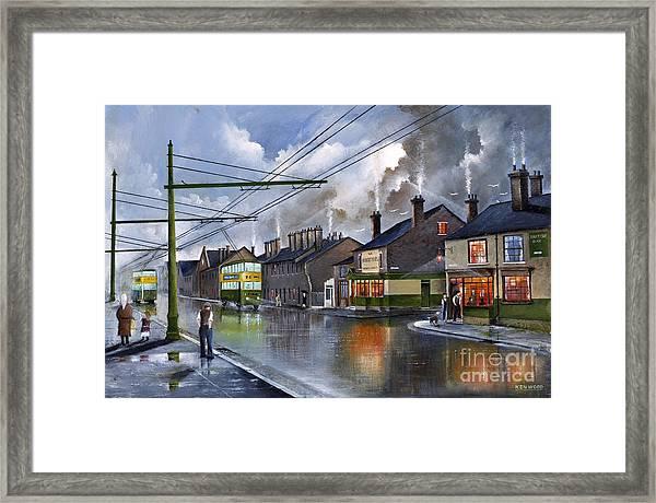 Salop Street Dudley C 1950 Framed Print