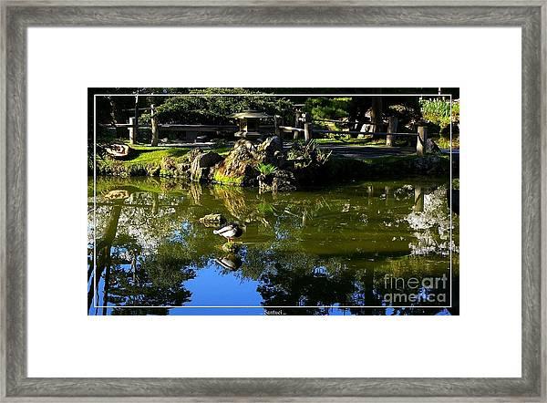 San Francisco Golden Gate Park Japanese Tea Garden 10 Framed Print