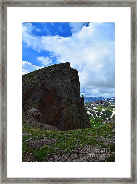 Framed Print featuring the photograph San Juan Summer by Kate Avery