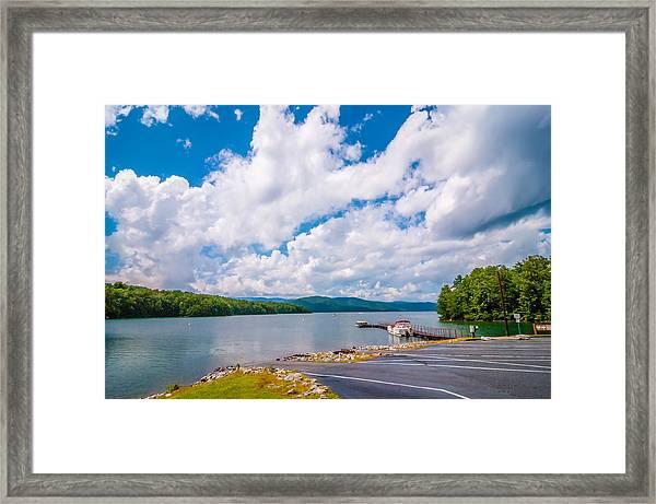 Scenery Around Lake Jocasse Gorge Framed Print