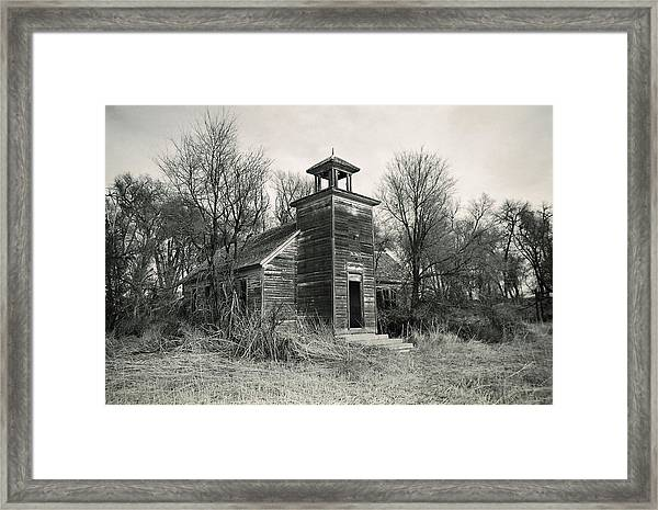 Schools Out Framed Print