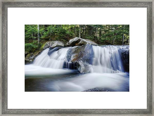 Screw Auger Falls Framed Print