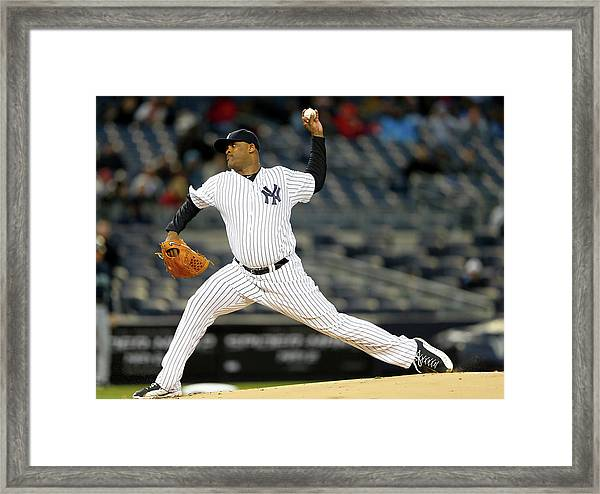 Seattle Mariners V New York Yankees Framed Print