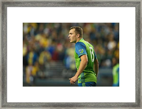 Seattle Sounders V Club America - Concacaf Champions League Framed Print by Matthew Ashton - AMA
