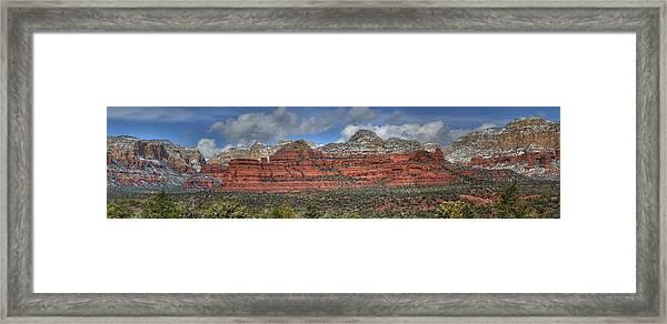 Secret Mountains Framed Print