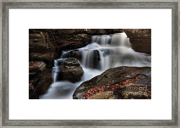 Secret Waterfall Framed Print