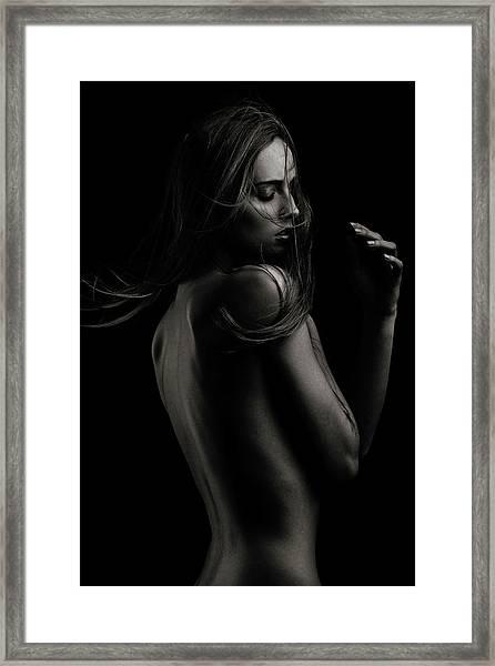 Sensual Beauty Framed Print