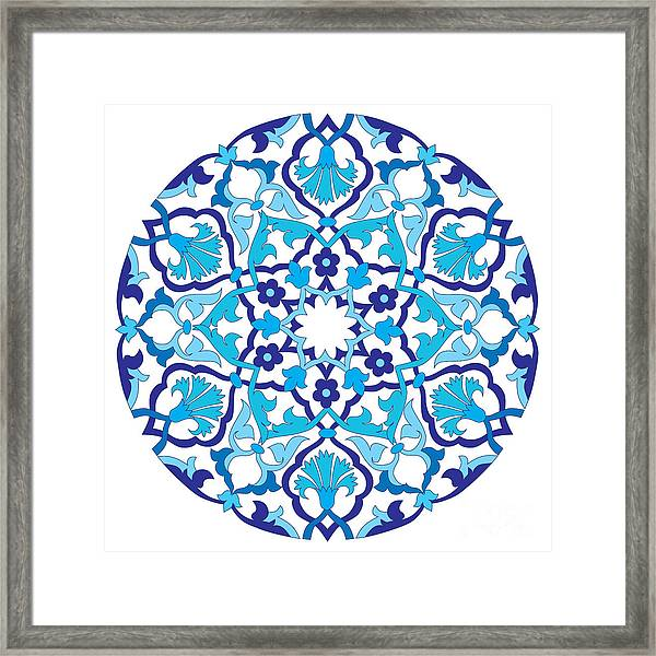 Series Of Patterns Designed By Taking Framed Print