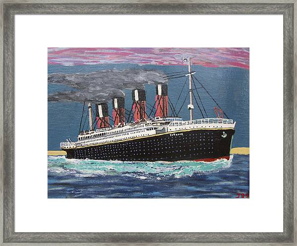 Ship Of Dreams Framed Print by Jose Bernal