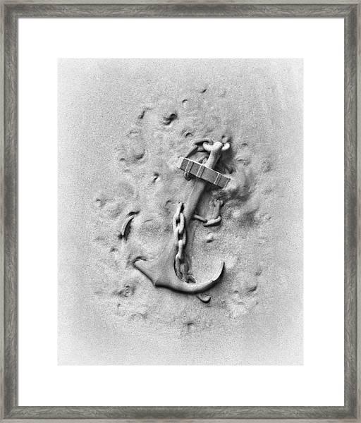 Ship's Anchor Framed Print