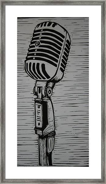 Shure 55s Framed Print