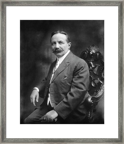 Sigard Knopf Framed Print by National Library Of Medicine
