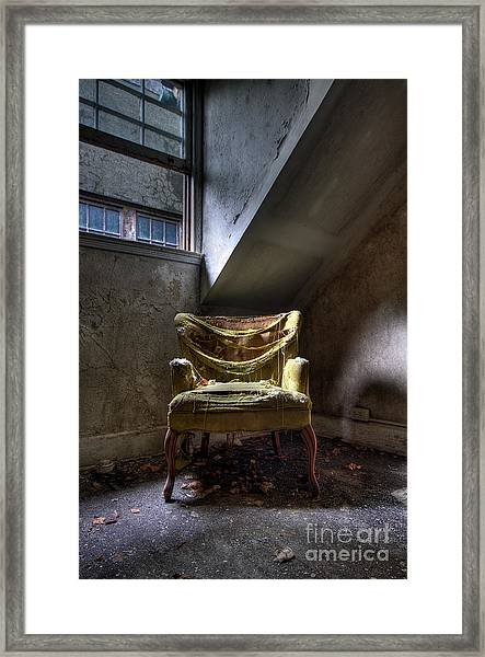 Silence Within Framed Print