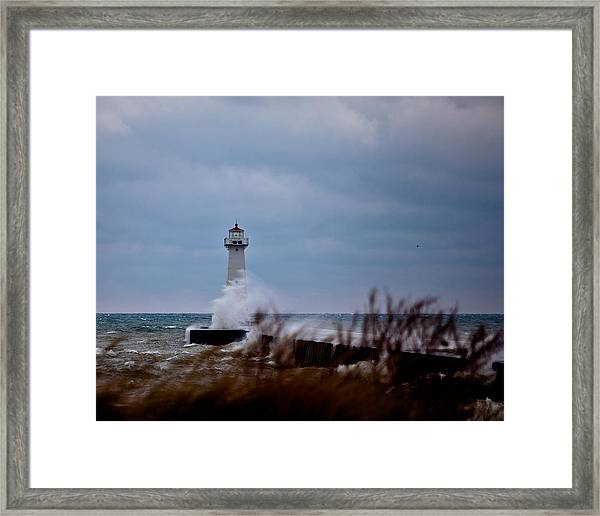 Sodus Point Lighthouse Framed Print
