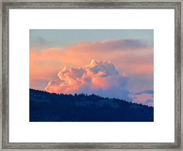 Soothing Sunset Framed Print