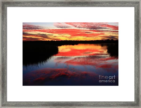 South Ponte Vedra Coast Framed Print