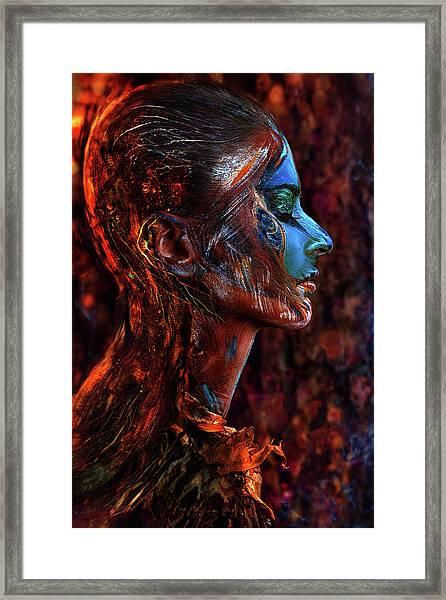 Spirit Of The Wood Framed Print