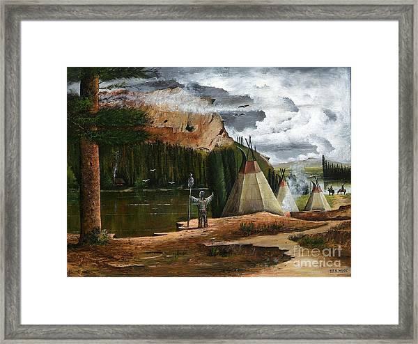 Spiritual Home Framed Print